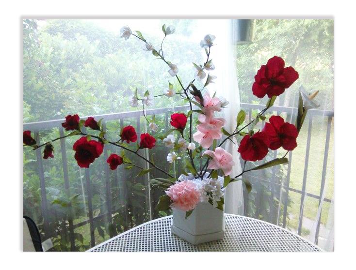 fiori carta crespa1