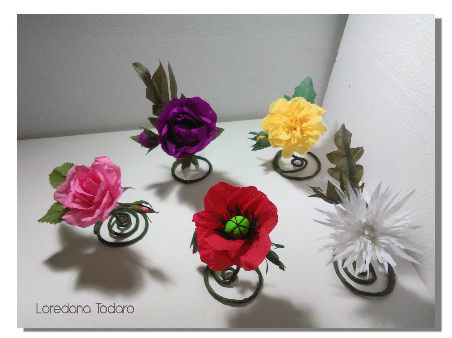 spesso Matrimonio con Fiori di Carta   Loredana Todaro LP94