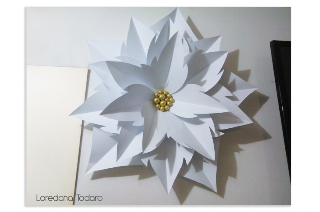 Stella di Natale in carta (diametro ca- 90 cm)