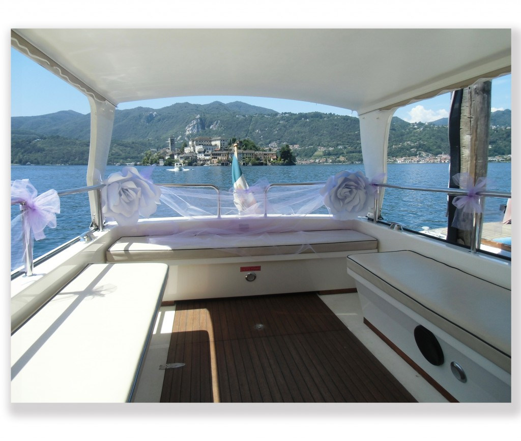 Barca -Allestimento barca ospiti